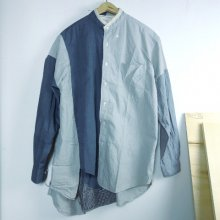 nusumigui<br /><br />Patchwork Shirt