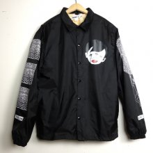 TARZANKICK!!!<br /><br />�EyeyE-NEXT PRIMITIVE�<br />Hand silkscreen Coach Jacket