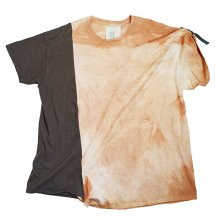 nusumigui<br /><br />Patchwork Hand-dyed Tee