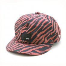 TONBOW<br /><br />NYLON ZEBRA CAP<br /> -RED-