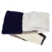 nusumigui<br /><br />Patchwork Wool Scarf