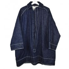 osakentaro<br /><br />Denim Pullover<br />Coat