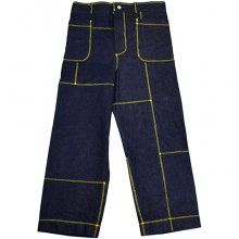 <img class='new_mark_img1' src='//img.shop-pro.jp/img/new/icons8.gif' style='border:none;display:inline;margin:0px;padding:0px;width:auto;' />osakentaro<br /><br />Stitch Denim Pants