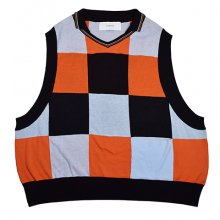 <img class='new_mark_img1' src='https://img.shop-pro.jp/img/new/icons8.gif' style='border:none;display:inline;margin:0px;padding:0px;width:auto;' />Wonderland<br /><br />Knit Polo Vest