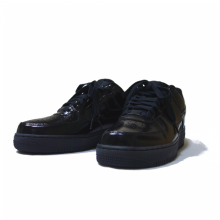 NIKE <br /><br />AIR FORCE �  LOW <br />ENAMEL BLACK   【NI010】