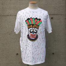 "TARZANKICK!!!<br />ターザンキック<br />Hand Printed T-shirt <br />""MANCO DICKNALD""   【TK011】"