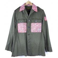 TARZANKICK!!!<br /><br />Hand Print Military Jacket