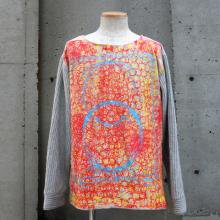 TARZANKICK!!!<br /><br />Hand Printed Switching Sweat