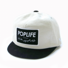 TONBOW<br /><br />POPLIFE CAP<br />-CORD WHITE-<br /> 【TW015】