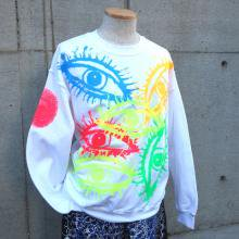 TARZANKICK!!!<br /><br />Hand Printed  Sweat <br />� EYES �