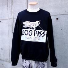 TARZANKICK!!!<br /><br />Hand Printed Sweat<br />�DOG PISS�