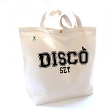 TONBOW<br /><br />DISCO SET TOTEBAG<br />-NATURAL-
