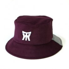 TONBOW<br /><br />BB BUCKET -CORD BORDEAUX-