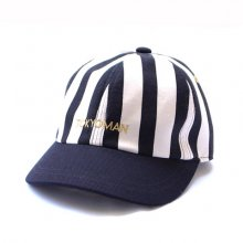 TONBOW<br /><br />T.M STRIPE CAP -BLACK-