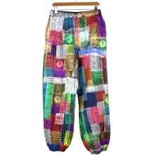 "TARZANKICK!!!<br /><br />Silkscreen Sweatpants<br />""Oni-primitive"""