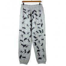 "TARZANKICK!!!<br /><br />Silkscreen Sweatpants<br />""ant"""