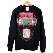 """TARZANKICK!!!<br /><br />Silkscreen Sweatshirt<br />""""ABZ"""""""