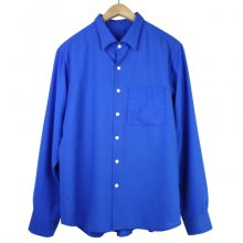 TARZANKICK!!!<br /><br />Original Wool Shirt<br />-Blue-
