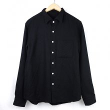 TARZANKICK!!!<br /><br />Original Wool Shirt<br />-Black-