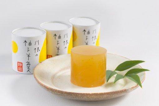 秋-40 川根柚子羊羹 5ヶ袋入