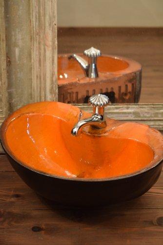 手洗い水栓付きボウル(陶器)