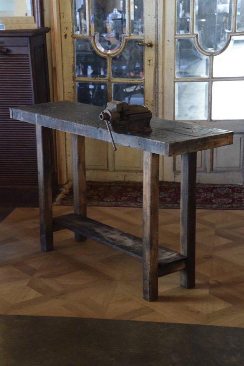 インダストリアル ワークテーブルカウンター