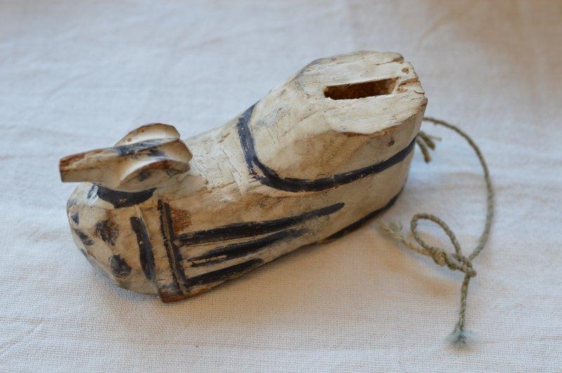 木製マリオネットの脚のパーツ