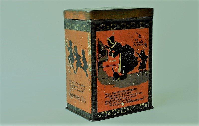 Horniman's Tea の缶 Nursery Rhymes