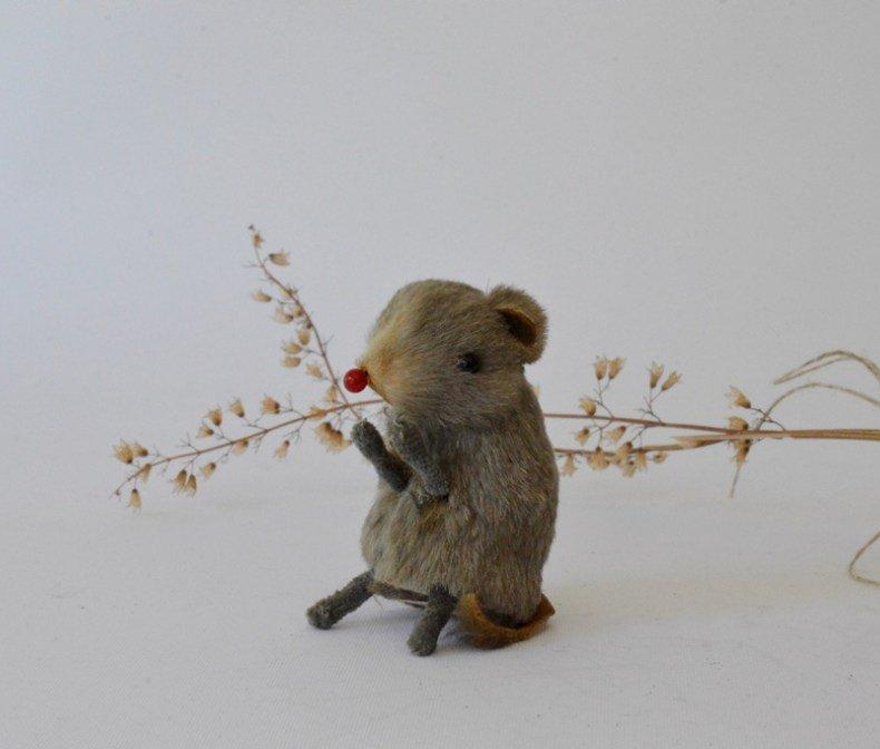 Wagner Künstlerschutz 小さなリアルファーの子ネズミ