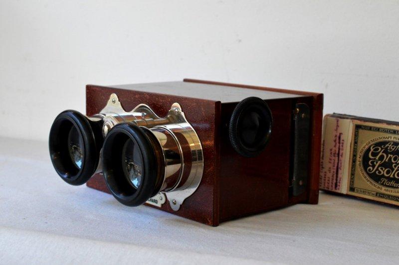 Verascope 木製箱型 Jules Richard