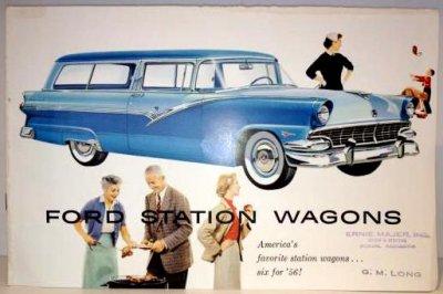 VINTAGE FORD STATION WAGONS 1956'S CATALOG