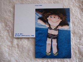 BLUEDOLL(ブルードール)ポストカード
