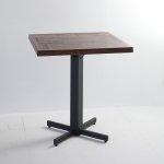 職人家具 古材 足場板ikpイカピーパッチワークカフェテーブル
