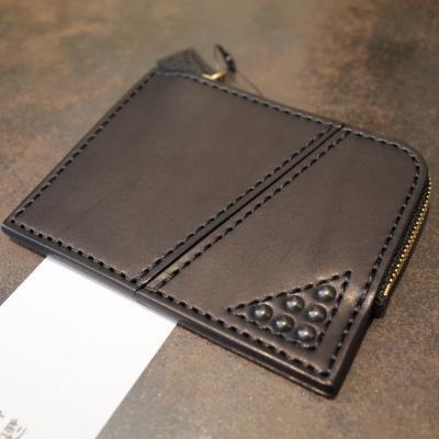 [blackmeans] Leather Wallet [小銭入れ]