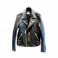 <img class='new_mark_img1' src='//img.shop-pro.jp/img/new/icons1.gif' style='border:none;display:inline;margin:0px;padding:0px;width:auto;' />[blackmeans] Sheap Leather Double RIders JKT