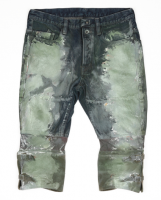 <img class='new_mark_img1' src='http://refugees66.shop-pro.jp/img/new/icons16.gif' style='border:none;display:inline;margin:0px;padding:0px;width:auto;' />[SIVA] CANVAS LEGGINGS PAINTING JEAN