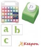 ミニクラフトパンチアルファベット小文字セット クラフトパンチ