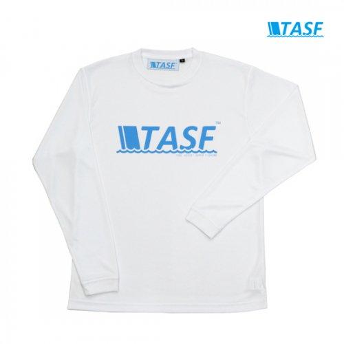 TASF DRY ロンTee -White-