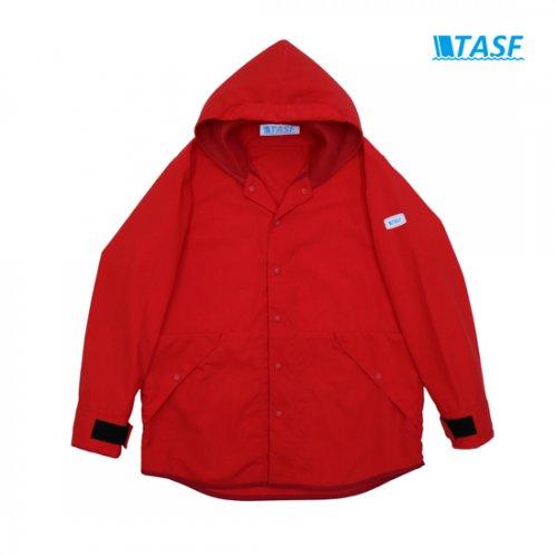 【アウター祭 対象商品】TASF FISH PARKA -Red-