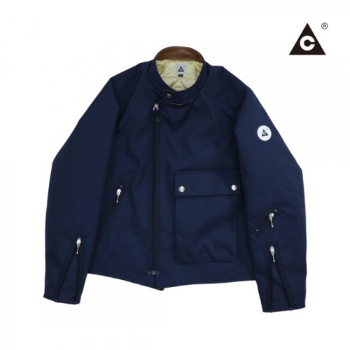 CANDY RIDER -Navy×Brown Leather-