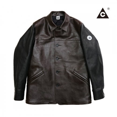MUSTANG COAT -D/Brown×Black-