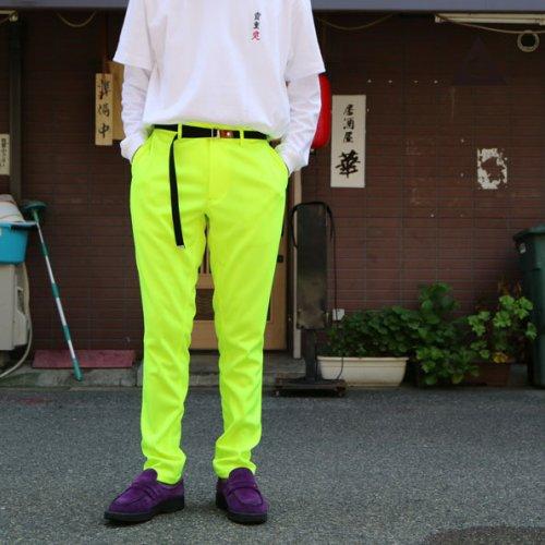 ボンスウェジャージ  -蛍光 Lime Green-