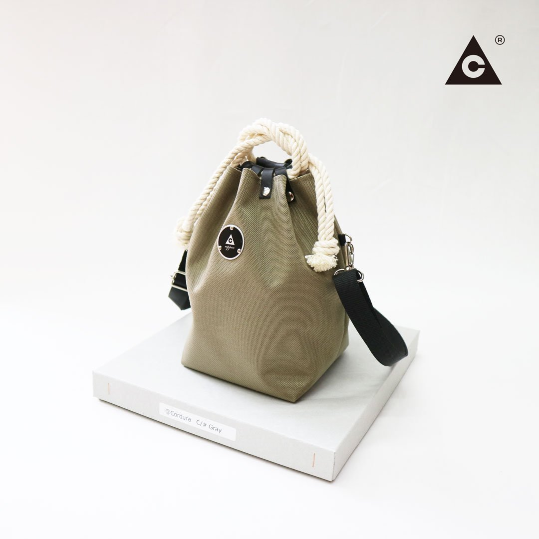 KOMUSUBI BAG  Cordura® -Gray-