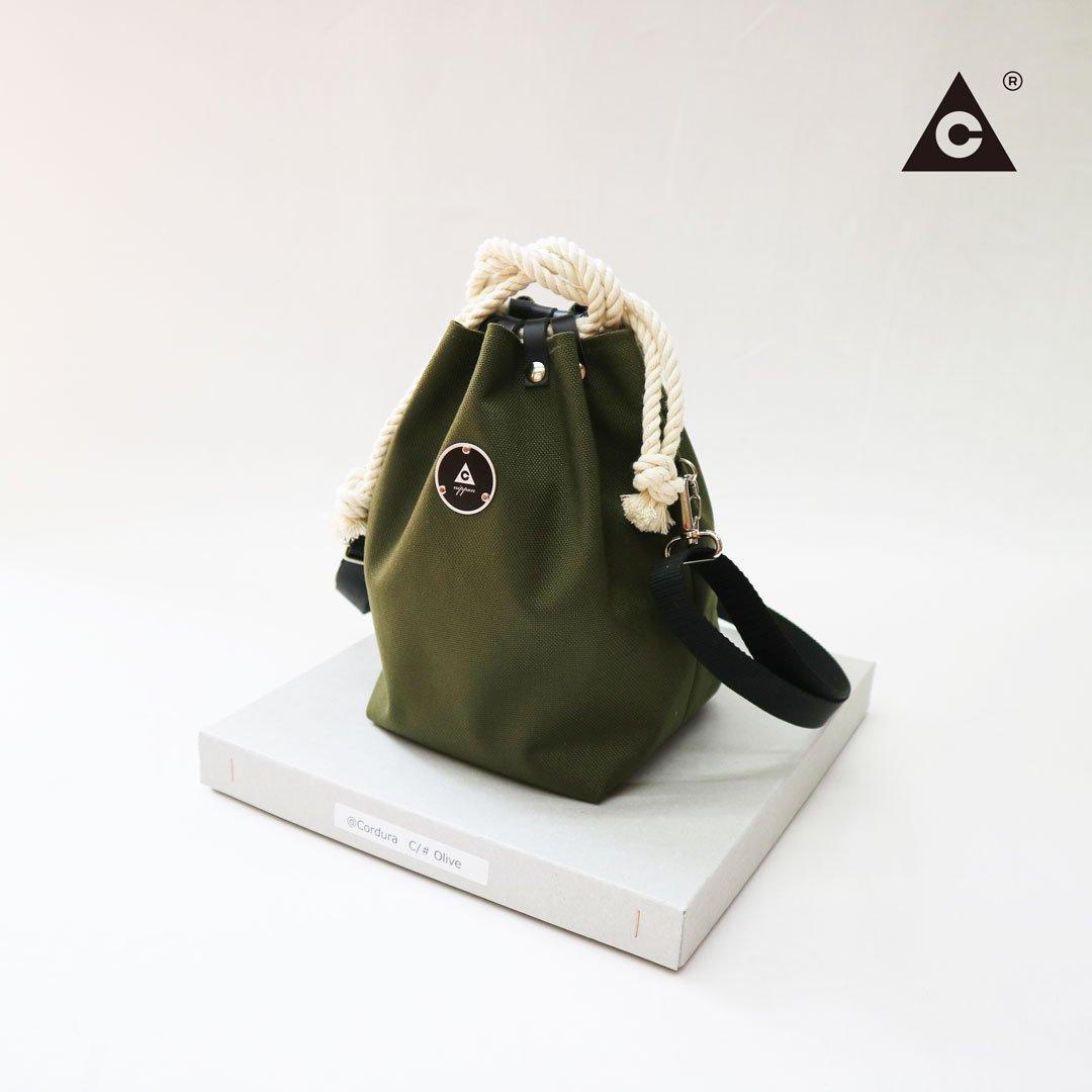 KOMUSUBI BAG  Cordura® -Olive-