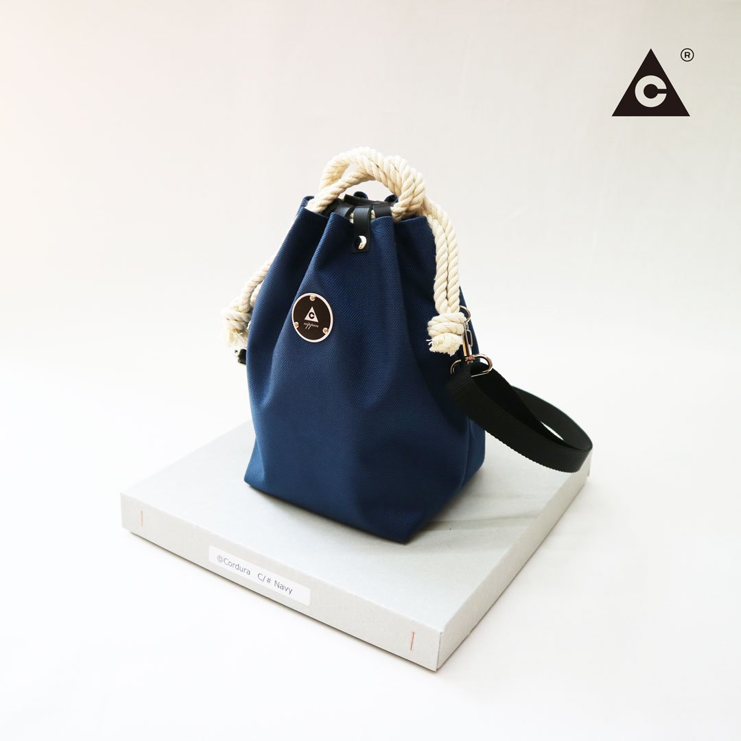 KOMUSUBI BAG  Cordura® -Navy-