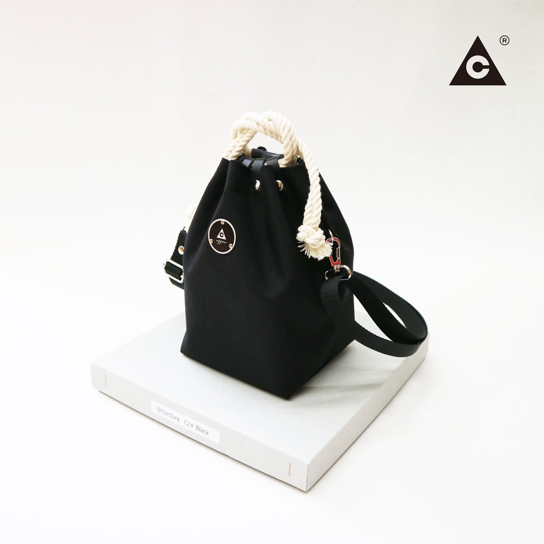 KOMUSUBI BAG  Cordura® -Black-
