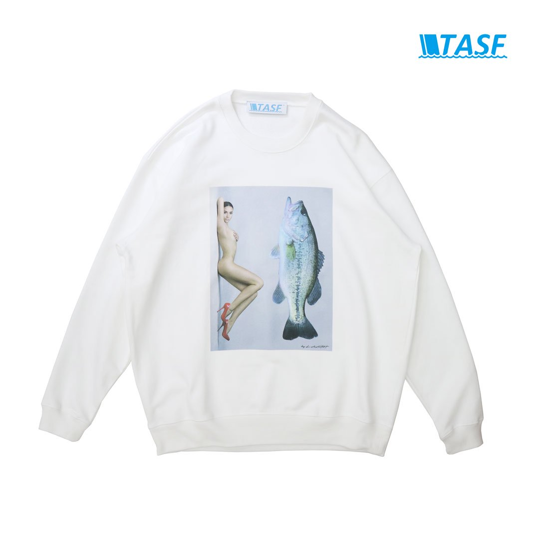 TASF BASS NUDE SWT -White-