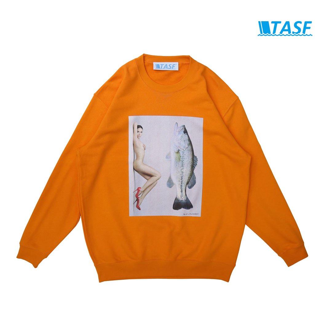 TASF BASS NUDE SWT -Orange-