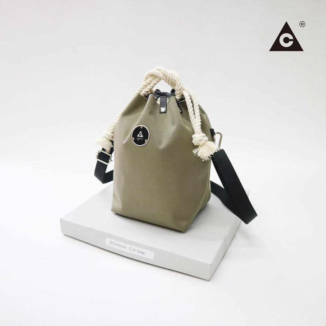 KOMUSUBI BAG  Cordura® -Gray-