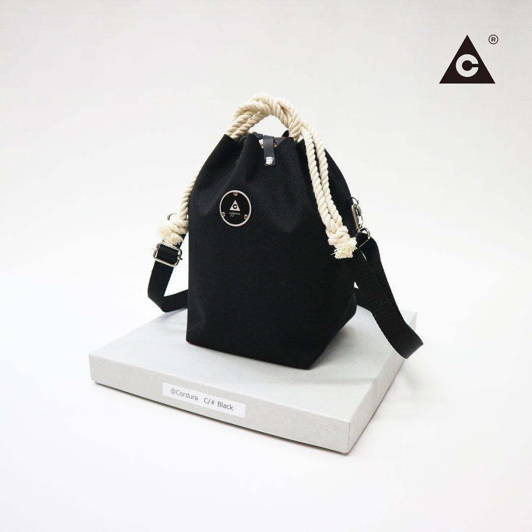 KOMUSUBI BAG  Cordura® -Black-